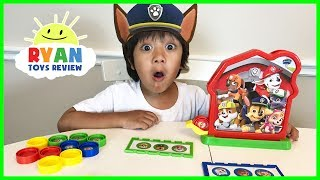 PAW PATROL TOY Bingo Game for Kids with Egg Surprise Toys thumbnail