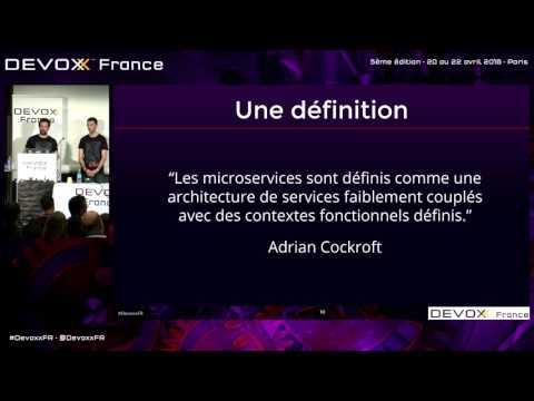 Microservices IRL: ça fonctionne chez un client, on vous dit comment! (French)