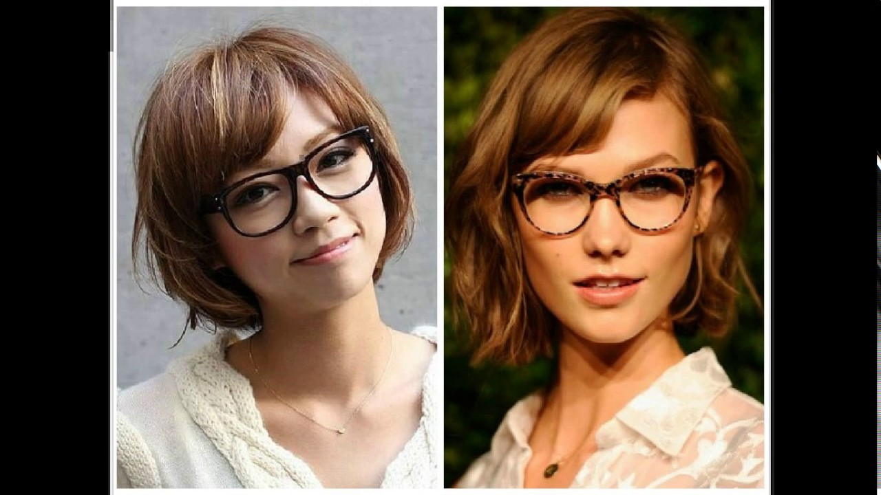 Short hairstyles with glasses - Short Haircuts For Girls With Glasses