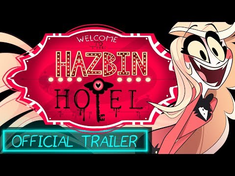 HAZBIN HOTEL (Official Trailer) NOT FOR KIDS!