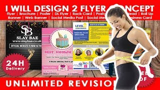 Best Flyer Gig Design On Fiverr |  Weight Loss Flyer Poster | Gioviar