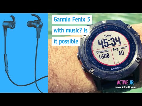 Garmin Fenix 5 with music - Will we see music on the flagship fitness wearable?