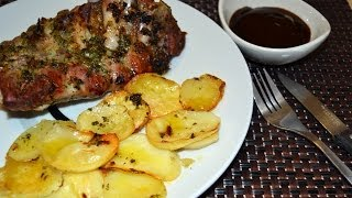 Baked Pork Ribs With Potatoes - Easy Oven-baked Pork Ribs Recipe