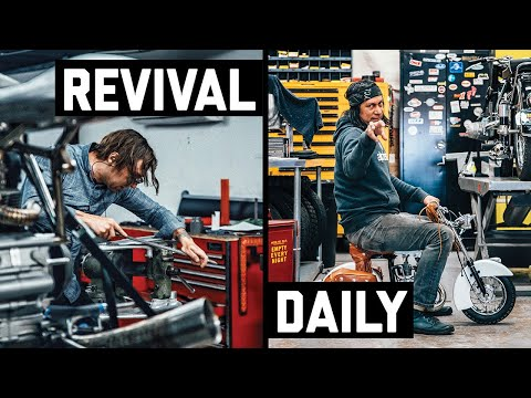 How To Shape Metal and Riding the World's Smallest Indian Motorcycle! // Revival Daily #63