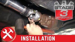 2005-2014 Mustang GT DynoTech 1 Piece Aluminum Driveshaft Install