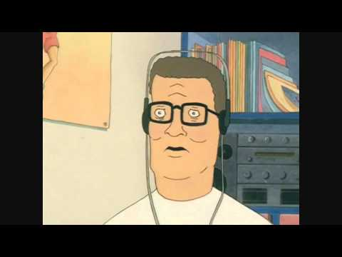 Hank Hill listens to Propane Nightmares