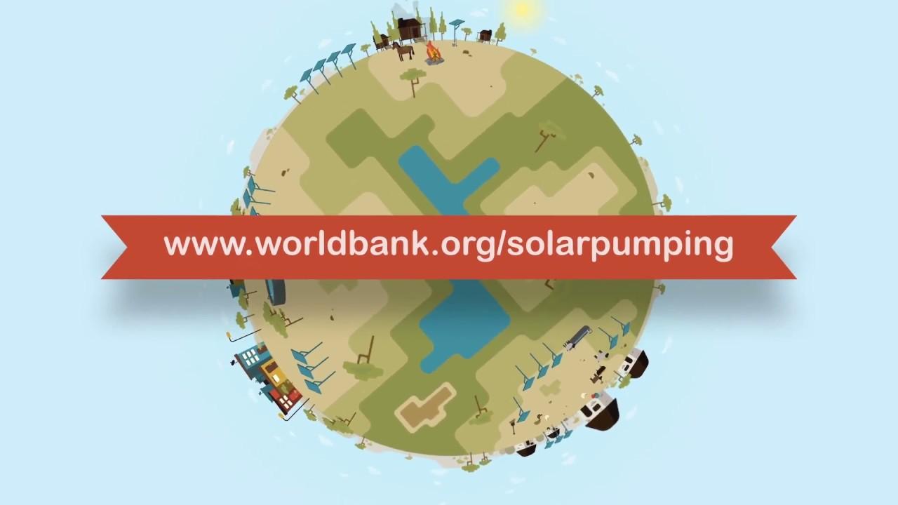 Pompage solaire: un moyen plus économique et plus propre pour accéder aux eaux souterraines