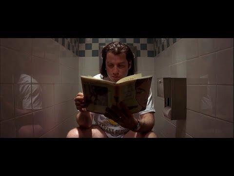 Vincent Vega and his bathroom karma