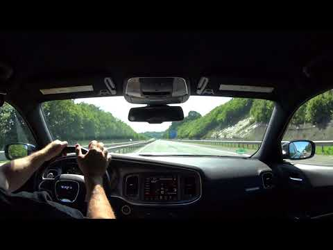 Passing a cop in a Charger Hellcat @ 145mph......