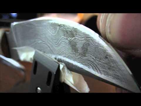 Hair Splitting Sharp Blade Sharpening On Wicked Edge