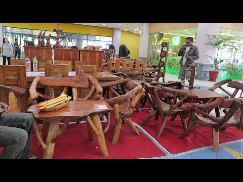 Beautiful Handcrafted Wood Furniture : 2018 Angeles City, Philippines