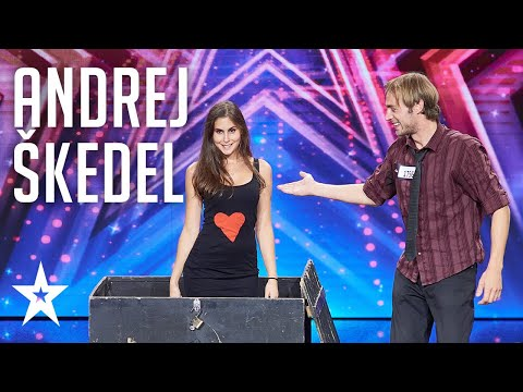 Unbelievable illusionist Andrej Škedel leaves us speechless│Supertalent 2018│Auditions