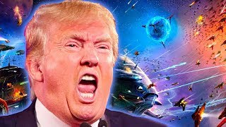Trump Announces Space Force As Sixth Branch Of The Military To Protect Satellites; Visit Mars, Moon