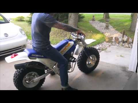 1987 Honda Fat Cat Sold For 1 626 Youtube