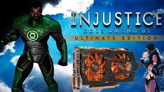 Injustice Ultimate Edition - Desempenho com a GTX 660 - Gameplay - Full HD