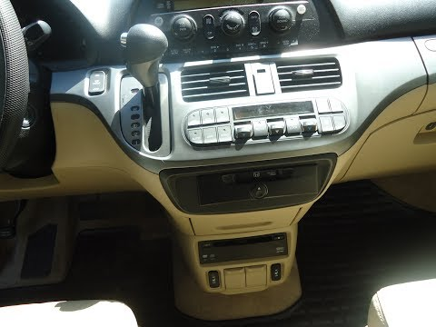 2005 - 2010 Honda Odyssey EX-L Dash Panel Light Removal And Replacement.