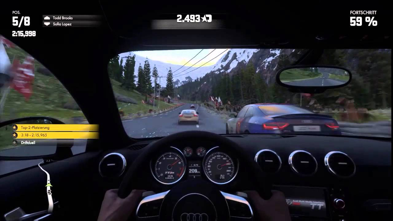Driveclub PS4 Gameplay Offline Single Player