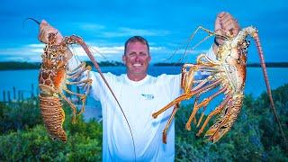 Monster Lobster {Catch Clean Cook} Home Made Lobster Bisque 2.0 (Staniel Cay, Bahamas)