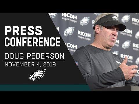 Doug Pederson: Eagles Still Gathering More Info On DeSean Jackson | Eagles Press Conference