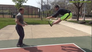 """How To """"Jump Higher"""" In 3 Minutes With 2 Exercises To Increase Your Vertical Jump"""