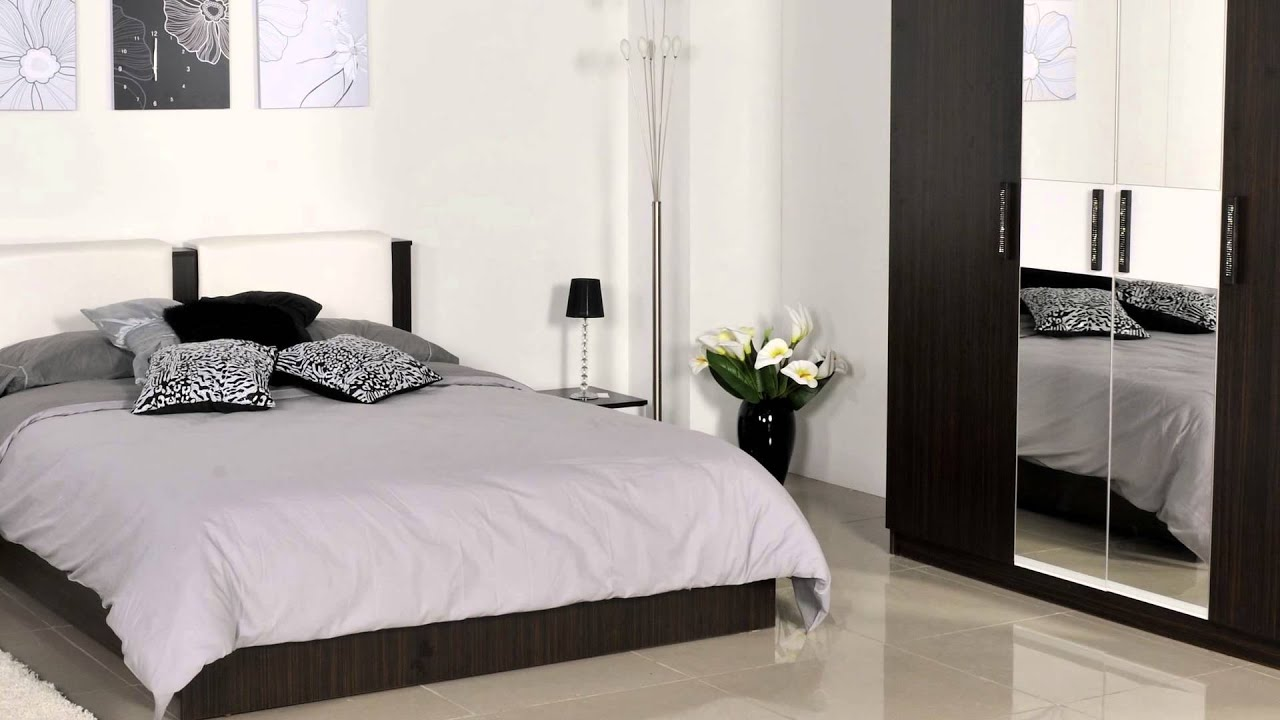 Chambre Adulte Moderne Design Chambre à Coucher Adulte Bianca غرفة نوم بيانكة Bedroom