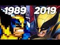 Evolution of X Men in Games 1989-2019