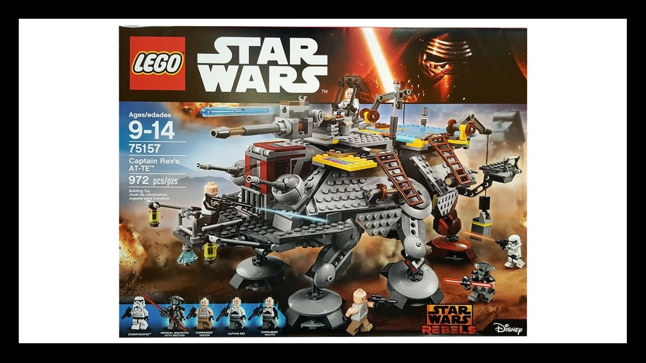Lego Star Wars 2016 New Summer Sets Official Images Youtube 75157 Captain Rexamp039s At Te