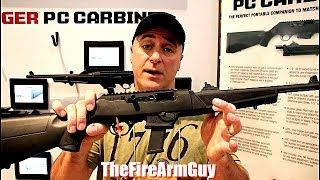 Ruger PC Carbine - Yes It Takes Glock Mags - TheFireArmGuy