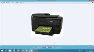 instalao do drive da impressora hp 8600 e 8610 no windows