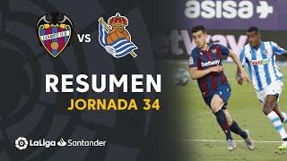 Resumen de Levante UD vs Real Sociedad (1-1)