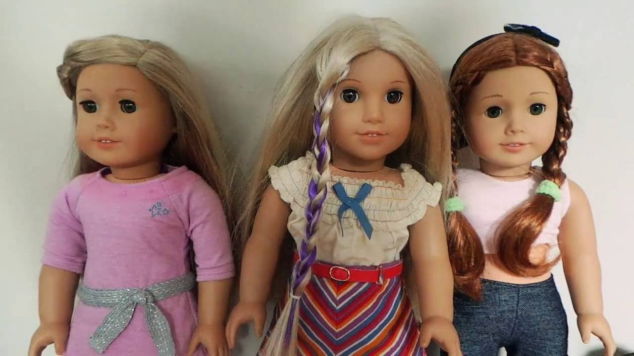 Cute hairstyles for barbie dolls - 4 Cute Hairstyles On Your American Girl Doll