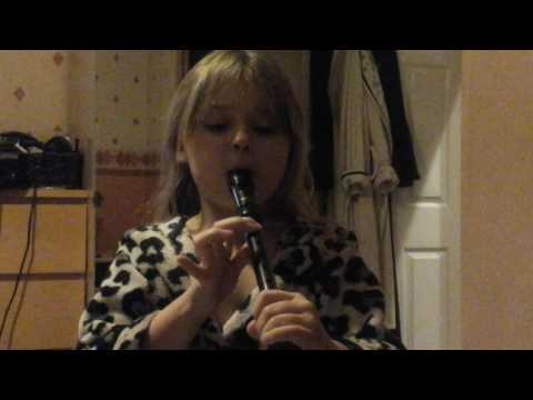 3 blind mice on the  recorder