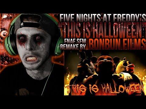 "Vapor Reacts #739 | [FNAF SFM] HALLOWEEN ANIMATION ""This Is Halloween"" By BonBun Films REACTION!!"