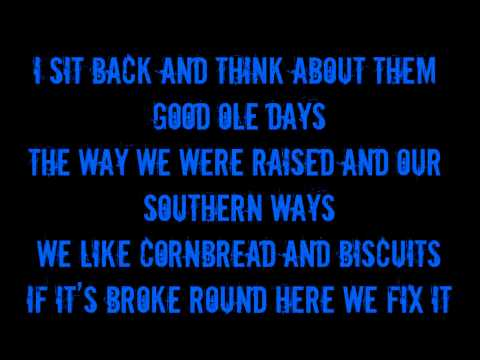 Brantley Gilbert- Dirt Road Anthem (On Screen Lyrics)