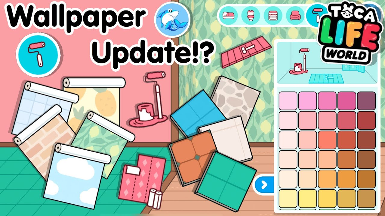 Toca Life World | Wallpaper Update!? (Home Designer)