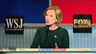 FBN/WSJ GOP debate part 8