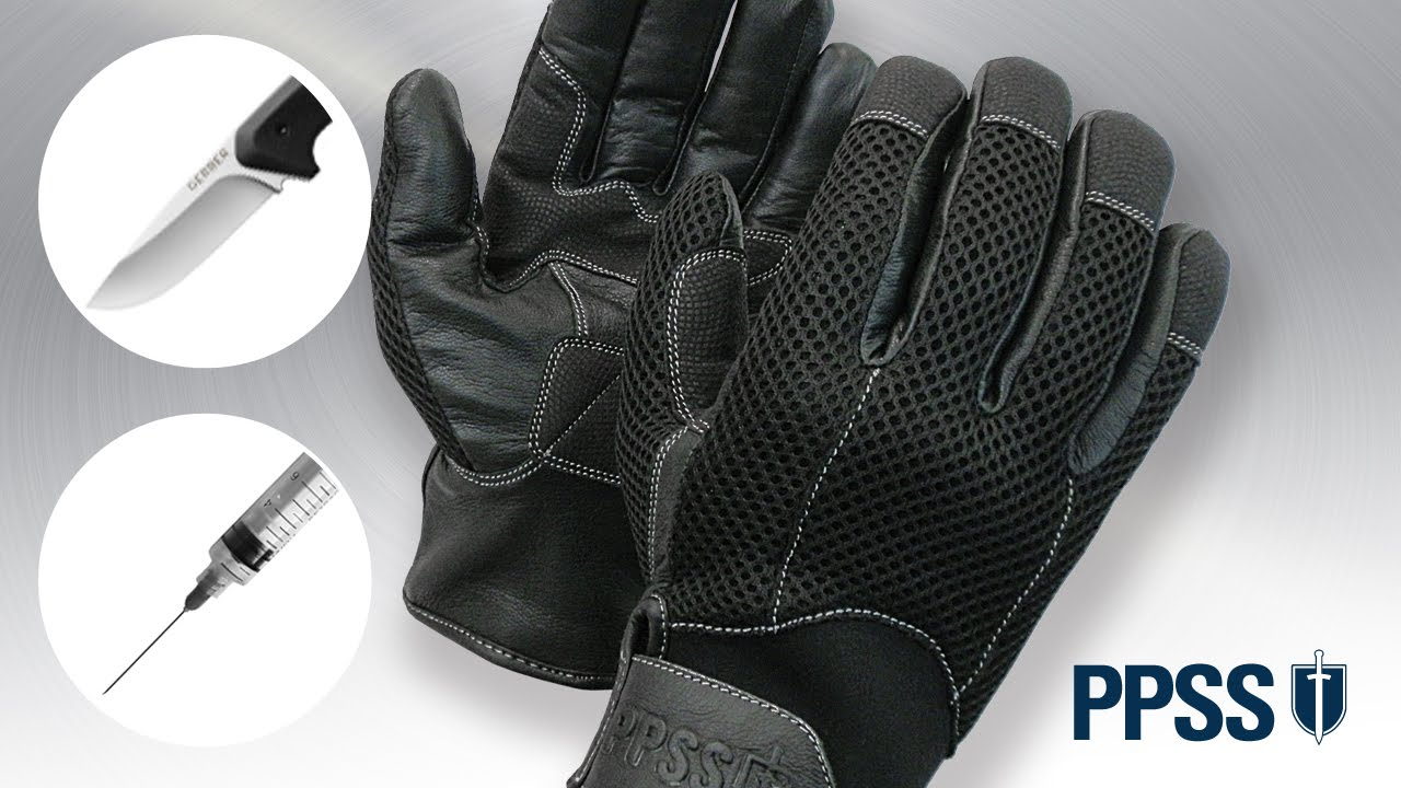 ppss slash and needle resistant gloves video