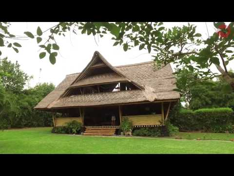 Biodegradable Bamboo House