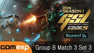 Life vs Soulkey (ZvZ) - Code S Ro16 Group B Match 3 Set 3, 2015 GSL Season 1 - StarCraft 2