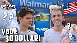 ELKAARS OUTFIT KOPEN BIJ WALMART VOOR $30 😂🇺🇸 | Tom & Mats in Amerika #13
