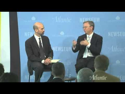 Eric Schmidt at Washington Ideas Forum 2010