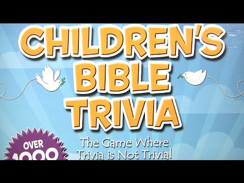Children's Bible Trivia Game from Ideal