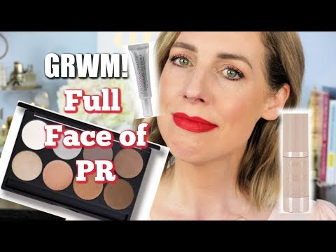 GRWM FULL FACE Of PR Makeup