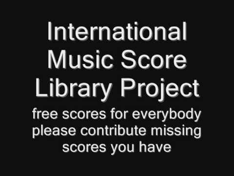 fogli di musica - feuillets de musique - Noten - music scores  -  free