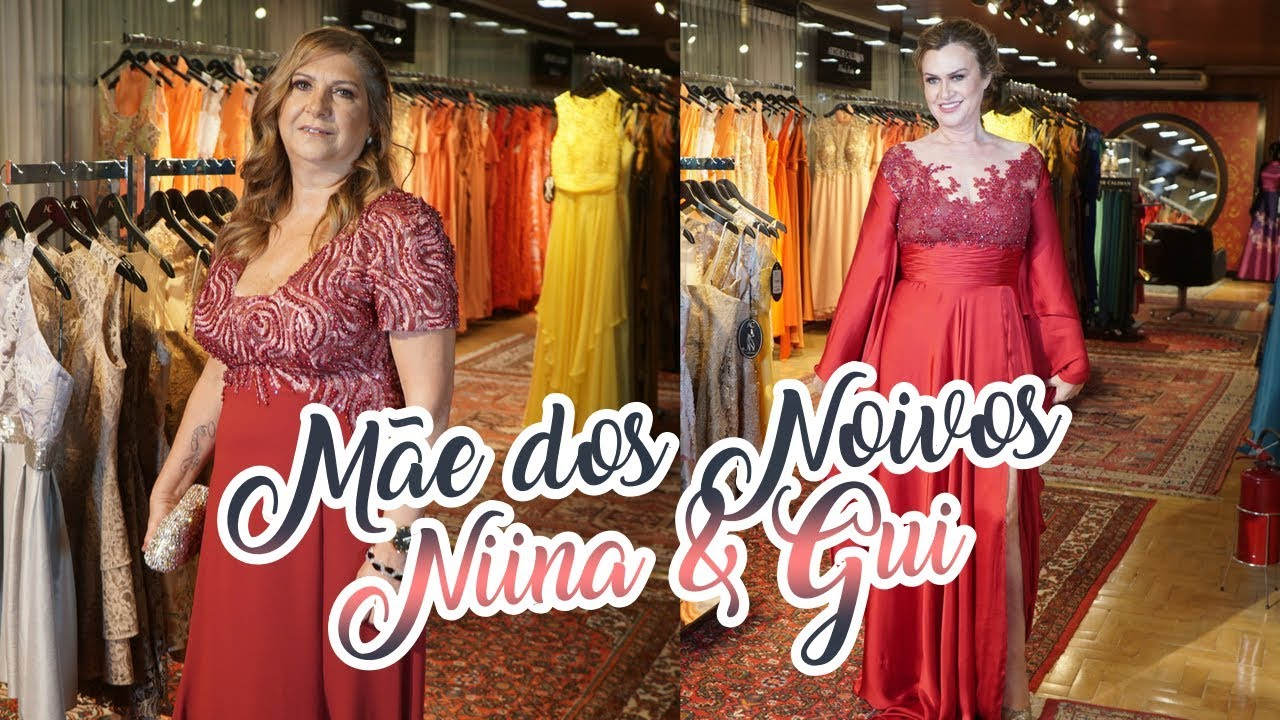 466db163b0 VESTIDO IDEAL PARA AS MÃES DOS NOIVOS FEAT. ARTHUR CALIMAN - YouTube