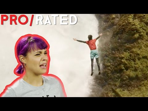 Pro/Rated: Athletes React To Extreme Diving, Biking & More | People Are Awesome