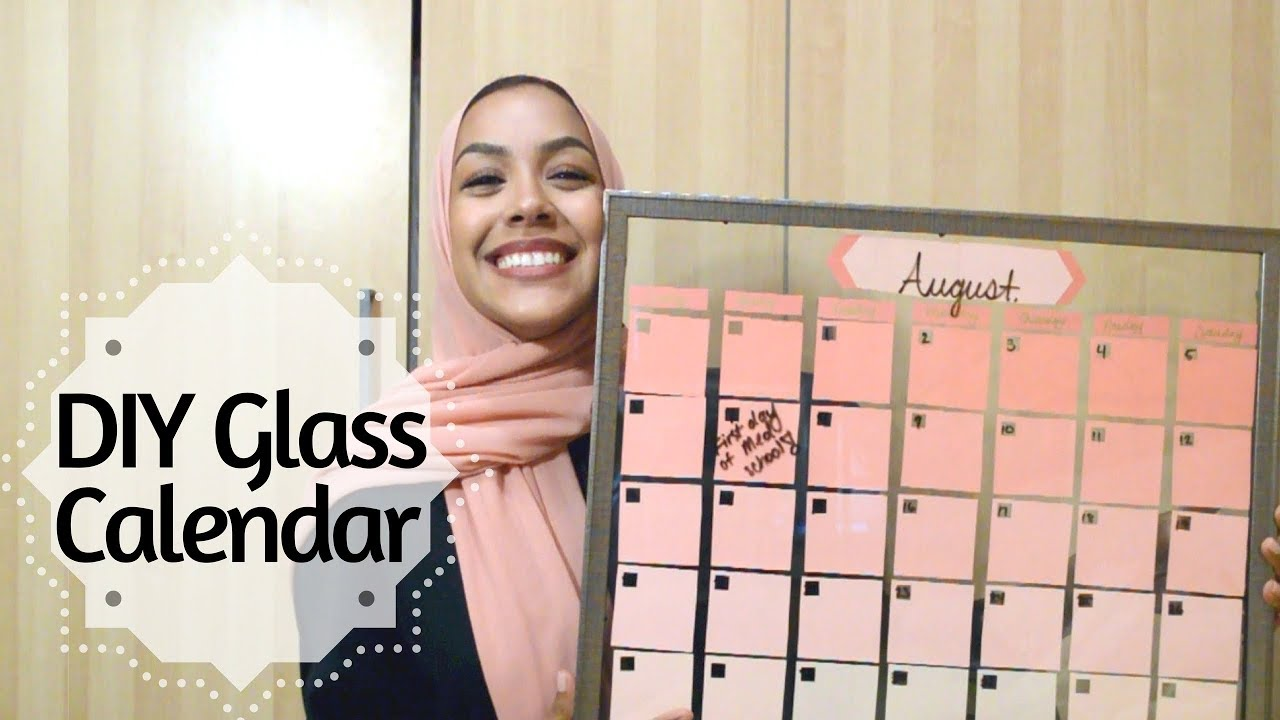 Diy dry erase glass calendar 2 minute tutorial youtube diy dry erase glass calendar 2 minute tutorial solutioingenieria Image collections