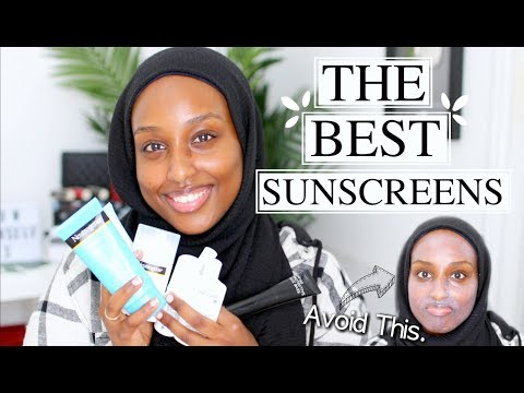 THE BEST SUNSCREENS FOR THE FACE *WOC FRIENDLY*   Aysha Abdul