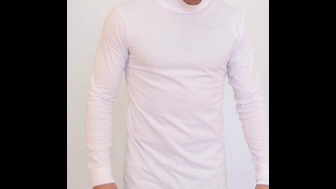 turtleneck hvid