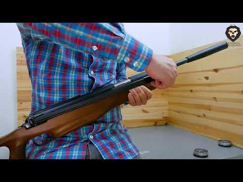 Пневматическая винтовка Diana 56F Target Hunter (4.5 мм, дерево) видео обзор